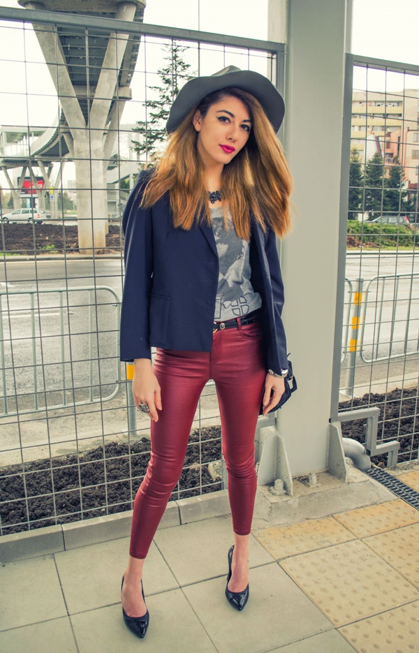 street-style-hat-red-pants
